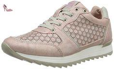 1241-301-555, Sneakers Basses Femme - Rose (555 Rose), 40 EUMustang