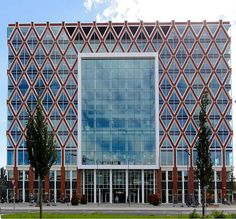 New city Hall Gouda Netherlands