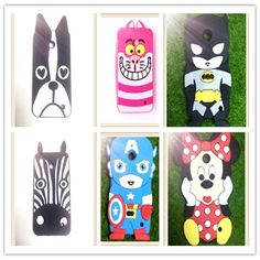 For Nokia Lumia 630 N630 Covers New 3D Cartoon Cute Captain America Super Hero Series Soft Rubber Back Phone Cases Free Shipping