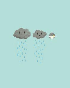mais d'où vient la pluie ?!