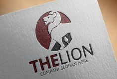 The Lion Logo by Josuf Media on @creativemarket