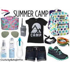 My Life As a Summer Camp Counselor by workingonatan  #Summer #Clothes #Outfits #Polyvore