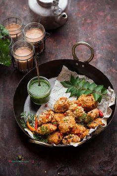 Sabudana Vada Recipe (Sago Vada) - Binjal's VEG Kitchen