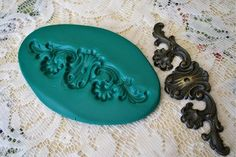 making molds to make your own plaster ornamental appliques for furniture, wood projects, etc. tutorial
