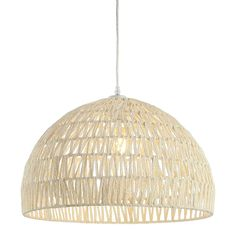 Here's How to Nail the Japandi Interior Design Style Using Amazon Finds | Instantly upgrade your space with this cream-colored rattan pendant light. It comes with LED bulbs and would look great hanging above a dining room table or living room alcove. #decorideas #homedecor #decorinspiration #realsimple #smallspaceideas #apartmentideas Interior Design Principles, Light Colored Wood, Japanese Interior Design, Off White Color, Ceiling Lights, Led, Lighting, Pendant, Target