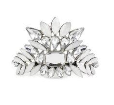 Crystal Bun Pin - Silver – Kitsch