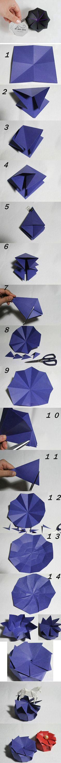 Paper rose DIY