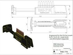 #RAE-716 FN Five-seveN #Handgun High Speed Magazine Loader. Find our #speedloader now! http://www.amazon.com/shops/raeind