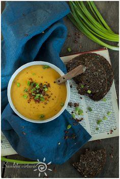 Creamy Sweet Potato Carrot Soup (1)