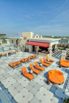 Skybar at the Oasis is a rooftop bar that sits atop a new 12-story tower at the Ramada Plaza Resort and Suites International Drive.