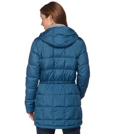 I love this warm coat!  It actually snitches at the waste. Perfect for hourglass figures! Micropuff Down Coat: Winter Jackets | Free Shipping at L.L.Bean