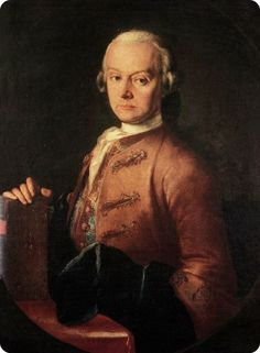 Leopold Mozart (November 1719 – May was a German composer, conductor, teacher, and violinist. Mozart is best known today as the father and teacher of Wolfgang Amadeus Mozart, and for his violin textbook Versuch einer gründlichen Violinschule. Leopold Mozart, Amadeus Mozart, Art Through The Ages, Chor, People Of Interest, Free Youtube, Italian Artist, Conductors, Classical Music