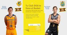 Tu Club DISA te lleva al Basket Jornada 12