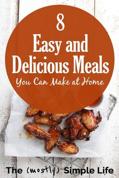 Discover easy and simple meals that you can make in less than 20 minutes, with simple ingredients you probably already have at home. No Sugar Diet, Low Sugar, Simple Meals, Quick Easy Meals, Batch Cooking, Easy Meal Prep, Freezer Meals, Healthy Habits, Easy Desserts
