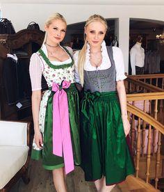 """Gefällt 224 Mal, 7 Kommentare - Giacomelli Trachten-Couture (@giacomelli_trachten) auf Instagram: """"Diese zwei hübschen Ladies @strelnikova.darya & @sandytereza in #giacomellitrachten …"""""""