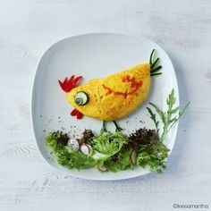 Samantha Lee Omlet cute idea