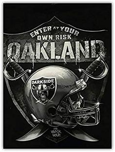 Check out all our Oakland Raiders merchandise! Oakland Raiders Logo, Okland Raiders, Raiders Helmet, Raiders Pics, Raiders Stuff, Raiders Baby, Raiders Players, Oakland Athletics, Nascar