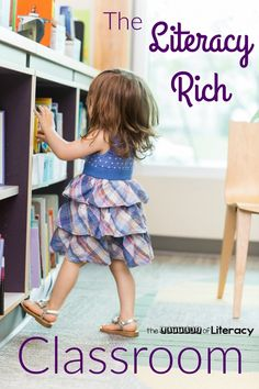 Are your children immersed in a print-rich environment? Great tips and thoughts on having a literacy rich classroom or home. Literacy And Numeracy, Literacy Skills, Kindergarten Literacy, Early Literacy, Literacy Activities, Literacy Stations, Reading Activities, Classroom Organization, Classroom Management