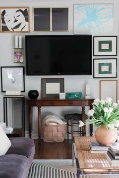 Living Room Wall Decor Around Tv Apartment therapy. Lovely Living Room Wall Decor Around Tv Apartment therapy. How to Design Around Your Living Room Television Accent Walls In Living Room, Living Room Paint, New Living Room, Living Room Furniture, Living Room Decor, Furniture Stores, Furniture Market, Small Living Room Ideas With Tv, Small Living Rooms