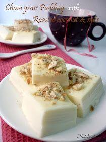 Kitchen Boffin: China grass Pudding