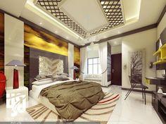 """MODERN #BEDROOMINTERIOR DESIGN  #3DRENDER VIEW BY www.hs3dindia.com @nirlepkaur_id"""