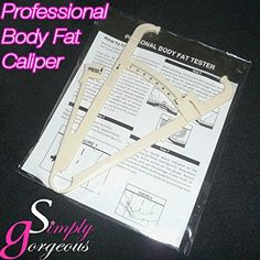BODY FAT CALIPERS WITH MANUAL and CHARTS -- Read more at the image link. (Amazon affiliate link)