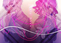 埋め込み Vocaloid, Anime Couples, Cute Couples, Super Hero Life, Fanart, Anime Poses Reference, Avatar Couple, I Love Anime, Girls In Love