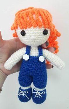 Julie doll amigurumi pattern
