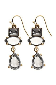 Featuring ornate crystal stones the Marion Earrings are perfect finishing your look with a sparkle.For a secure fit these earrings are finished with a hook back. In the interests of hygiene we do not offer refunds or exchanges on pierced jewellery.
