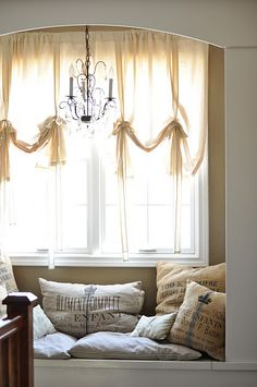 Another idea for master window seat