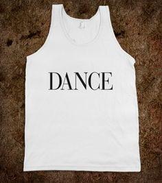#dance #vogue #skreened #shirt #tanktop #typography