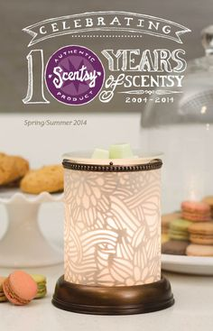Beautiful new warmers!  Our #Scentsy warmers have a liftetime guarantee!  www.enjoysmartscents.com!