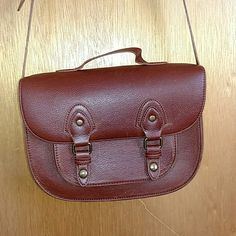 H&M Faux Leather Purse Great condition. A little bit of color fading when you look closely (see last photo) H&M Bags Crossbody Bags
