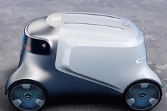 Id Design, Robot Design, Futuristic Cars, Futuristic Design, Delivery Robot, Microcar, City Car, Self Driving, Transportation Design