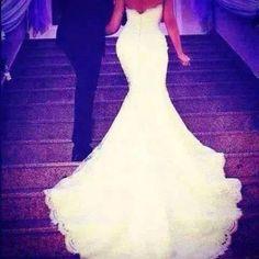 Image via We Heart It https://weheartit.com/entry/145577787 #couple #dress #love #lovely #wedding #white