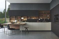 Phoenix Kitchen by CR&S Varenna for Poliform