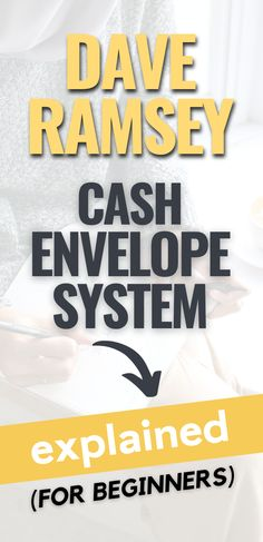 In this post I'll show you How to use Dave Ramsey cash envelopes to stop leaking money from your budget so you can master ways to save money. Need to get started on a proper budgeting with the envelope budget system? Then head over to the blog to read this post. Don't forget to bookmark it and save it to your board of ideas on ways to save money so you can easily refer to it later. Financial planning | Envelope Budget System for Beginners | Envelope Budget System Dave Ramsey