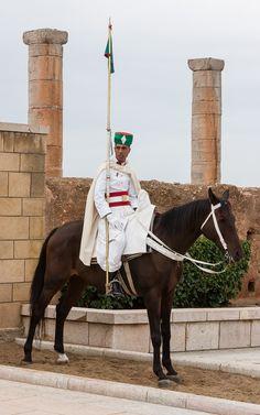 Guard, Casablanca, Morocco