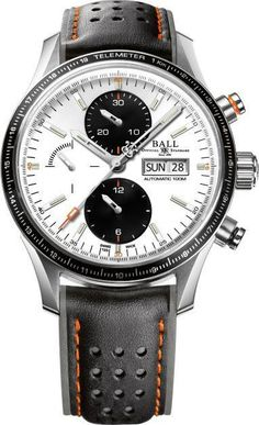Ball Watch Company Fireman Storm Chaser Pro White #bezel-fixed #bracelet-strap-leather #brand-ball-watch-company #case-depth-15-65mm #case-material-steel #case-width-42mm #chronograph-yes #date-yes #day-yes #delivery-timescale-1-2-weeks #description-done #dial-colour-white #discount-code-allow #gender-mens #luxury #movement-automatic #official-stockist-for-ball-watch-company-watches #packaging-ball-watch-company-watch-packaging #subcat-fireman #supplier-model-no-cm3090c-l1j-wh…