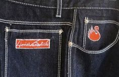 Gloria Vanderbilt jeans, I had a lavender pair of these. *cringe*