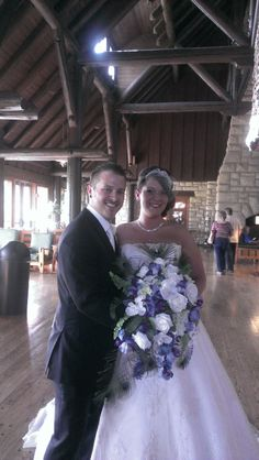 Adam and Keegen were married at Pere Marquette Lodge on May 3, 2014