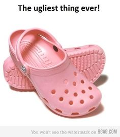 Am I the only one? Pink CrocsCrocs ...