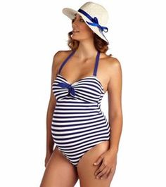 56b89df2650e6 7 Best Maternity Bathing Suits images
