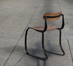 1930s Ironrite Health Chair Machine Age Industrial