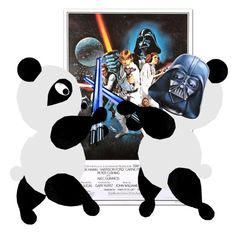 """""""STAR WARS"""" by maemigoro ❤ liked on Polyvore featuring art"""