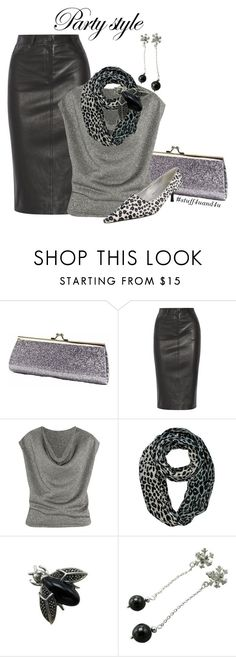 """""""Shoo Fly Fashion"""" by stuff4uand4u ❤ liked on Polyvore featuring Joseph, Yves Saint Laurent, Judith Jack, partystyle, stuff4uand4u and broochapproach"""