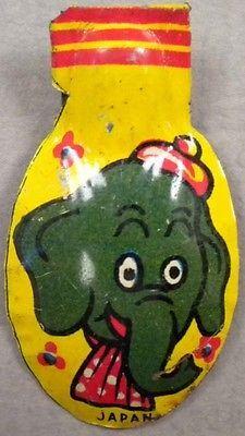 ELEPHANT HEAD CLICKER, 1950s
