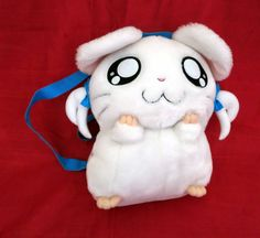 "Really Cute Girl Hamster HAMTARO BIJOU Plush Backpack, 14"" Tall, HAM HAM | eBay"