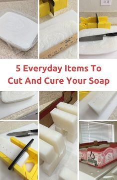 5 Everyday items you can use for cutting and curing homemade soap | PreparednessMama