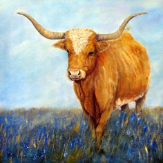 Longhorn by ldluglio on Etsy